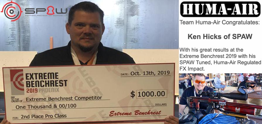 SPAW: 2nd At Extreme Benchrest Competion 2019