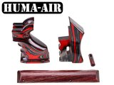 FX Impact Laminated Grip Set Apple Jack Red Lacquered