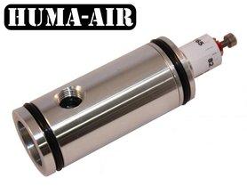 Huma-Air Regulator With Pressure Gauge Connection For The Benjamin Marauder