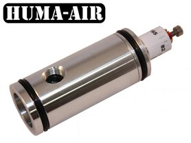 TEST Huma-Air Regulator With Pressure Gauge Connection For The Benjamin Marauder