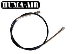 Microbore fill hose 1/8 BSP. 400 Bar working pressure