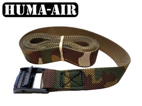 "Camouflage tie down cam buckle strap 1"" (25mm)"