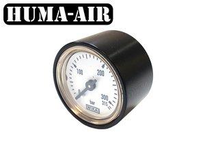 Wika 28 mm fill pressure gauge upgrade set for Vulcan Uragan with optional black cover
