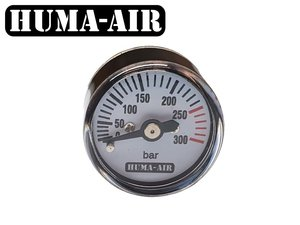 Mini pressure gauge 25 mm round body G1/8 BSP