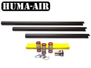 Huma-Air shroud with integrated moderator for Bsa Airrifles