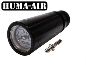 Huma-Air Quickfill With Pressure Gauge Set For Air Arms