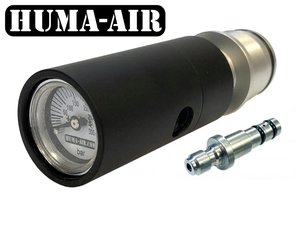Huma-Air Quickfill Set With Pressure Gauge For The Benjamin Marauder