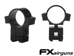 FX Airguns No Limit Scope Mounts 30 mm. Dovetail