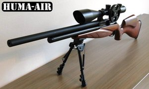 Huma-Air shroud with integrated moderator for Bsa Airrifles