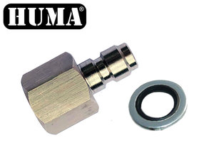 Foster Male to G1/8 BSP Female Adapter
