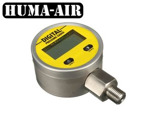 Digital pressure gauge 65 mm. G1/4 BSP (250 bar working pressure)