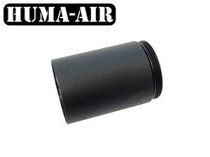 Optional 40 mm. volume chamber for the Modular Airgun Silencer MOD30