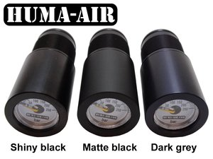 Huma-Air Quickfill With Pressure Gauge For CZ, Air Arms And Bsa: GREY COLOR