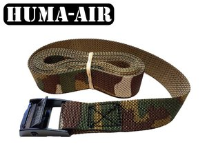 Camouflage tie down cam buckle strap 1