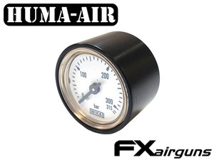 Black tactical pressure gauge cover for 28 mm. Wika gauges