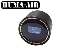 Electronic mini Pressure Gauge 28 mm diameter Edmu