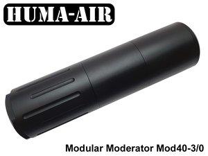 Modular Airgun Silencer MOD40-3/0 (Compact)