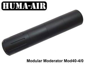 Modular Airgun Silencer MOD40-4/0 (Standard)