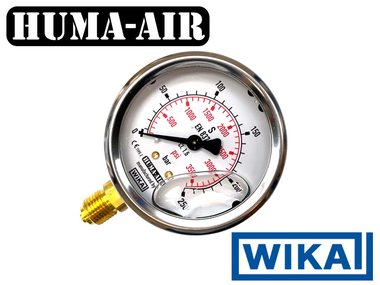 Wika Regulator Test Gauge For RAW HM1000
