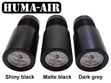 Huma-Air Quickfill With Pressure Gauge For CZ200, Air Arms S200 And Bsa: GREY COLOR