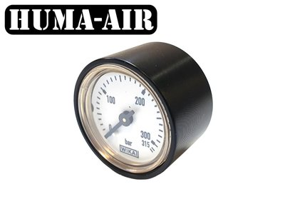 Wika mini pressure gauge + Cover for FX Dreamlite regulator pressure