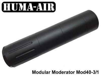 Huma-Air Modular Airgun Silencer Mod40 3-1