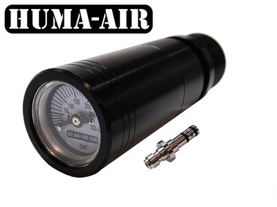 Air Arms quickfill set with pressure gauge