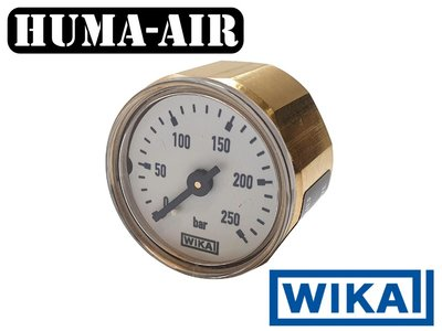 Wika mini pressure gauge + Cover for FX Impact MKII regulator pressure