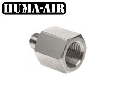 "Adaptor 1/4"" BSP male to 1/4"" BSP female"