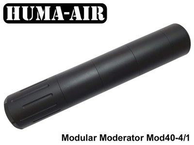 Huma-Air Modular Airgun Silencer MOD30-4/1