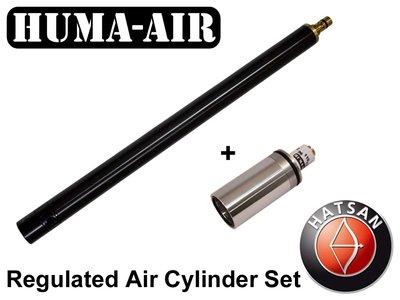 Hatsan AT44 or Bullboss Cylinder with Huma-Air Regulator
