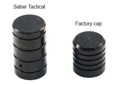 Saber Tactical Extended Dust Cap Cover ST-0019