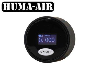 Digital mini pressure gauge 28 mm g1/8bsp