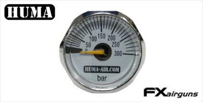 Huma test pressure gauge for FX wildcat and Streamline