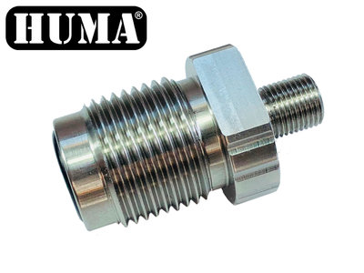 Din 300 adapter to 1/8 BSP treads