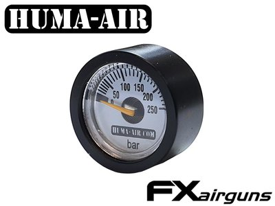FX Impact black regulator ressure gauge cover 23 mm.
