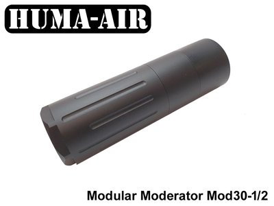 Huma-Air Modular Airgun Silencer MOD30-2/1