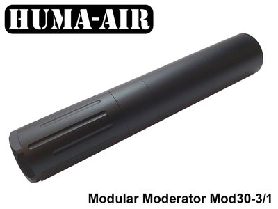 Huma-Air Modular Airgun Silencer MOD30-3/1