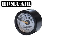 Black tactical pressure gauge cover cap 23 mm.